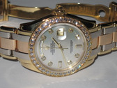 Mens Rolex 18K Gold Tridor Masterpiece