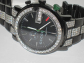 Mens Gucci 101G Diamond Watch