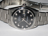 Mens Rolex Datejust Diamond Watch