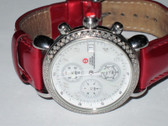 Womens Michele CSX Diamond Chronograph Watch