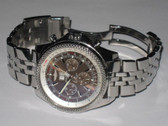 Mens Breitling Bentley 6.75 Stainless Steel Watch - MBRT101