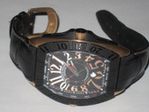 Mens Franck Muller Conquistador 18K Solid Rose Gold Watch