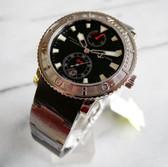 Mens Ulysse Nardin Maxi Marine Chronometer Diver Watch