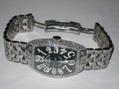 Mens Franck Muller Casablanca XL Diamond Watch