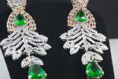 Hand Crafted Silver Collection - Emerald Crystals