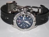 Mens Breitling Super Avenger Diamond Watch - MBRT20