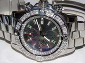 Mens Breitling Super Avenger Diamond Watch - MBRT41