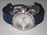 Mens Breitling Super Avenger Diamond Watch - MBRT5