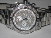 Mens Breitling Super Avenger Diamond Watch - MBRT63