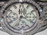 Mens Breitling Chronomat Evolution Diamond Watch - MBRT66