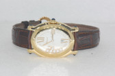 Womens Chopard Happy Sport 18K Gold Diamond Watch - WCHP14