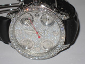 Mens Jacob & Co JC 47mm Diamond Watch -  MJCB11