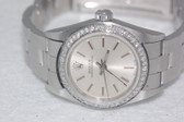 Womens Rolex Datejust Oyster Perpetual Diamond Watch - WRLX01
