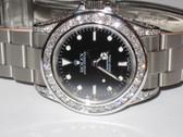 Mens Rolex Submariner Diamond Watch