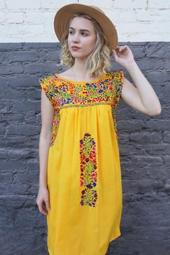 """La Guayaba"" Mexican Dress"