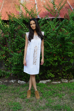 """""""Ines"""" Mexican Dress"""