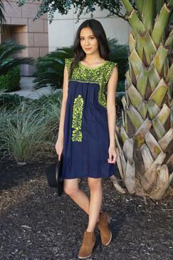 """Las Palmas"" Mexican Dress"