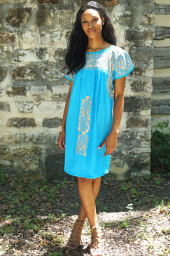 Nube Mexican Dress