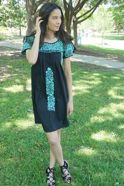 """""""Soledad"""" Mexican Dress"""