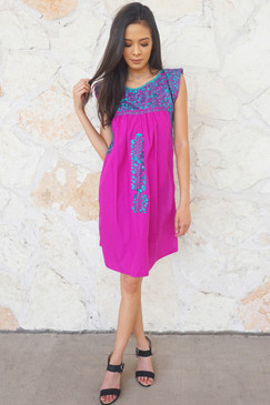 """""""Sirena"""" Mexican Dress"""