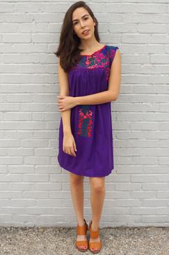 """Flor de Pitaya"" Mexican Dress"