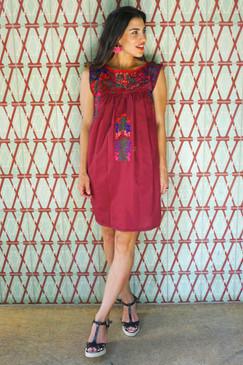 """""""Mérida"""" Mexican Dress"""