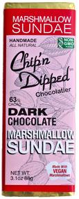 Dark Chocolate Marshmallow Sundae Bar - 6 Pack