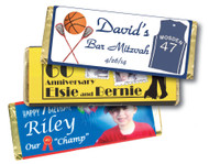 Personalized Plain Chocolate Bars