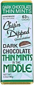Dark Chocolate Thin Mint Bar - 6 Pack