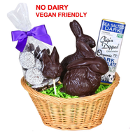 Organic Chocolate Easter Basket
