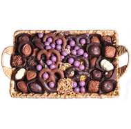 Chocolate Filled Basket Tray