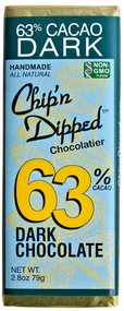 63% Cacao Dark Chocolate Bar - 6 Pack