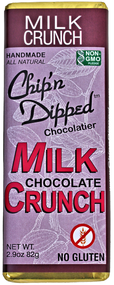 Milk Chocolate Crunch Bar - 6 Pack