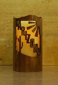 Arizona - Metal Candle Holder Luminary