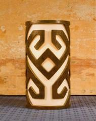Angular Design - Metal Candle Holder Luminary