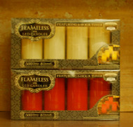 "4-Pack Flameless 6"" LED Candles"