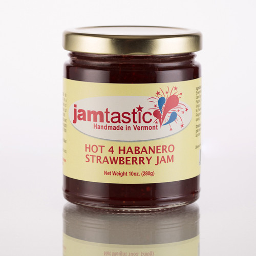 Hot For Habanero Strawberry Jam