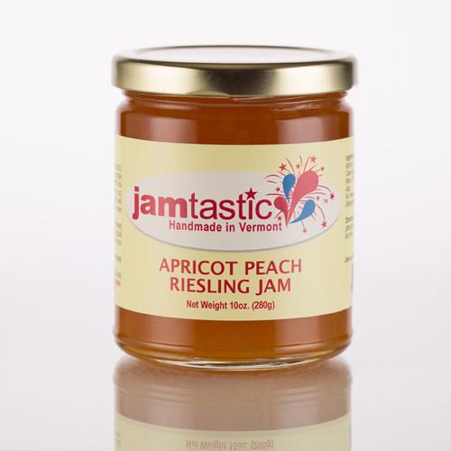 Apricot Peach Riesling Jam