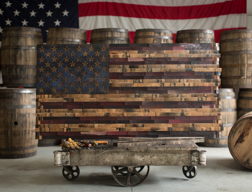 Bourbon Whiskey And Wine Are Aged For Upwards Of 10 Years In White Oak Barrels Until Reaching Maturity During That Time The Change Color