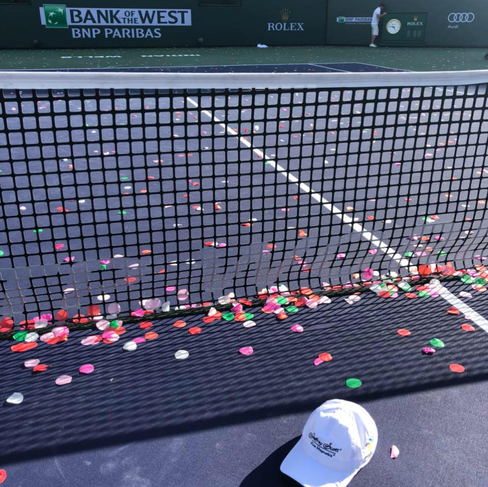 Hat's off to the 2018 BNP Paribas Open, it's competitors, and the thousands of fans who attended this spectacular event.