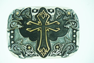 """Believe"" Cross Buckles"