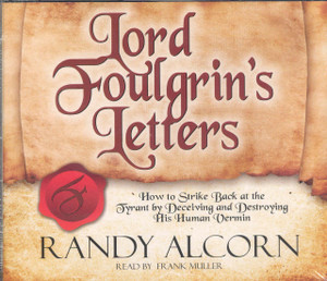 Lord Foulgrin's Letters audiobook CD