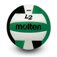 L2 Volleyball- Black/Green