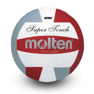 Super Touch® Volleyball- Red/Silver