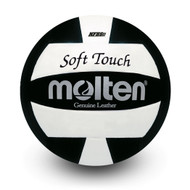 Soft Touch Volleyball- Black