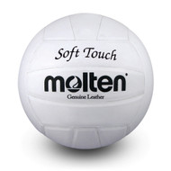 Soft Touch Volleyball- White