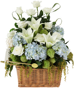 กระเช้าดอกไม้ B23