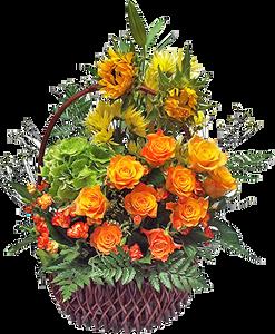 กระเช้าดอกไม้ B26
