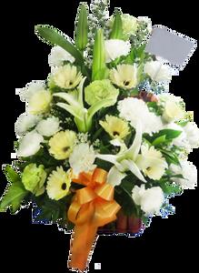 กระเช้าดอกไม้ B31
