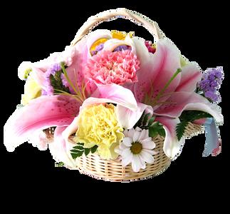 กระเช้าดอกไม้ B39